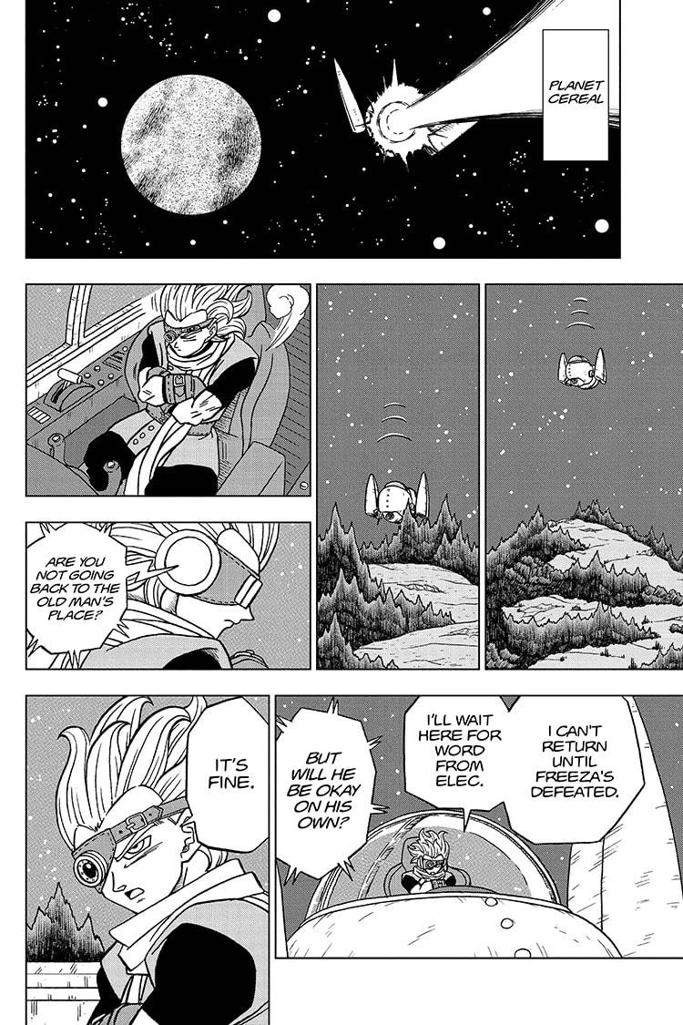 Dragon Ball Super Chapter 71 Page 8