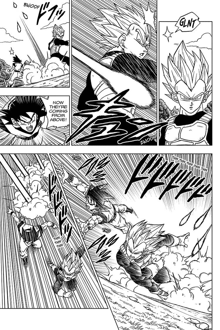 Dragon Ball Super Chapter 72 Page 11
