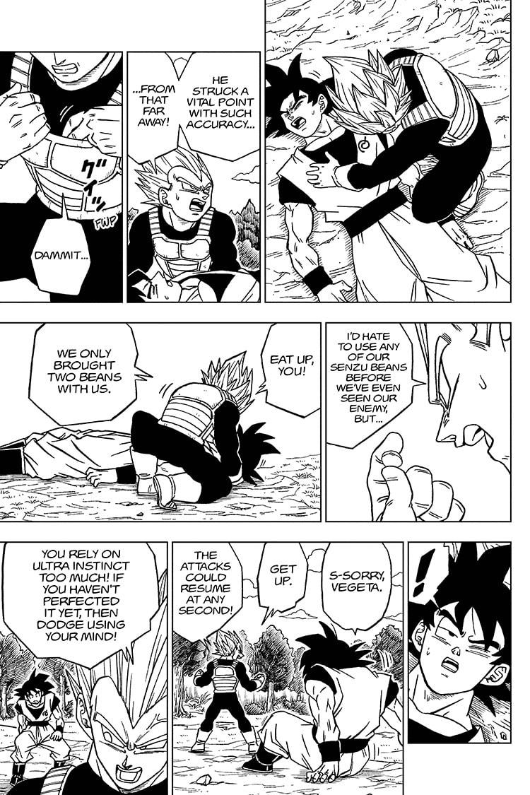 Dragon Ball Super Chapter 72 Page 15