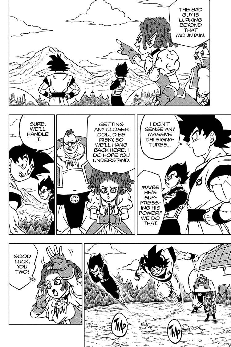 Dragon Ball Super Chapter 72 Page 2