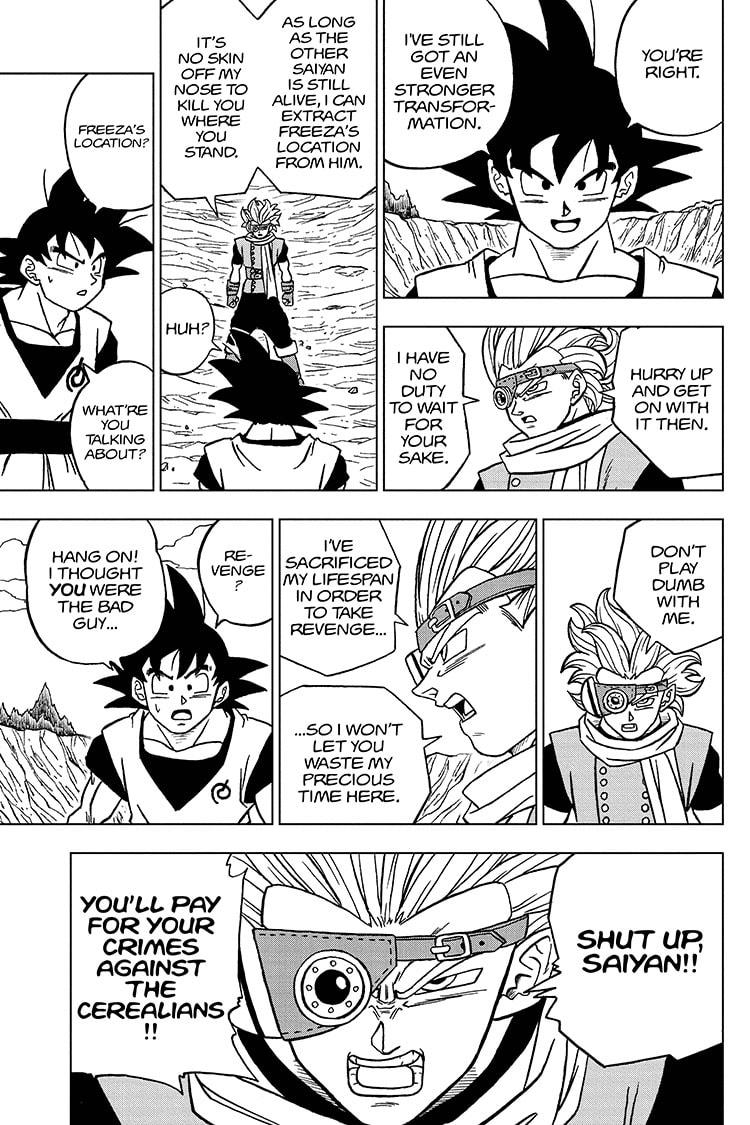 Dragon Ball Super Chapter 72 Page 37