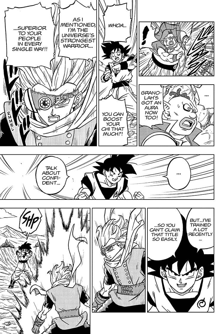 Dragon Ball Super Chapter 72 Page 39
