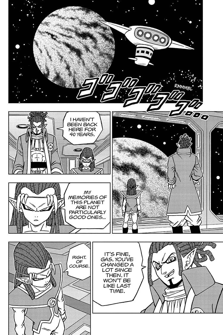 Dragon Ball Super Chapter 72 Page 4