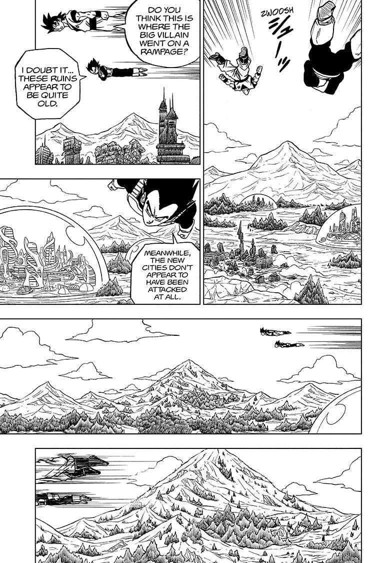 Dragon Ball Super Chapter 72 Page 5