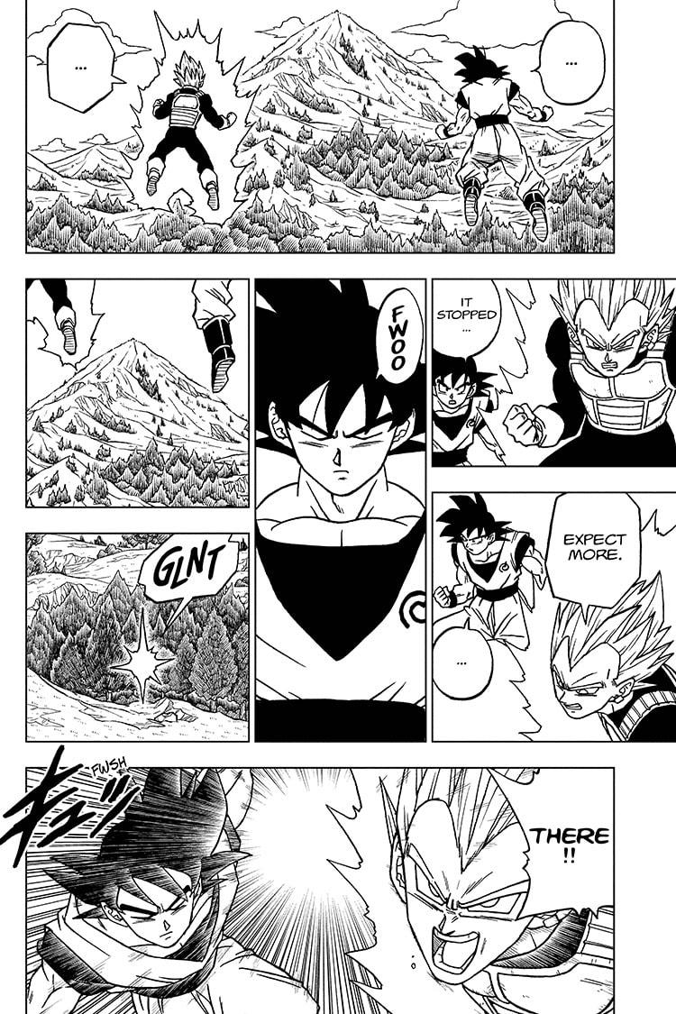 Dragon Ball Super Chapter 72 Page 8