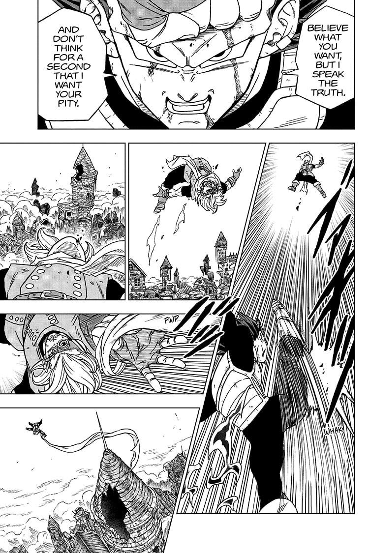 Dragon Ball Super Chapter 75 Page 21