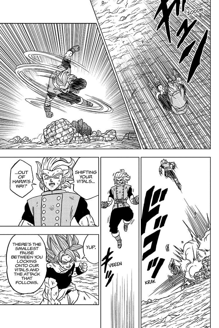 Dragon Ball Super Chapter 76 Page 17