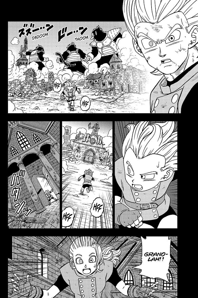 Dragon Ball Super Chapter 76 Page 32