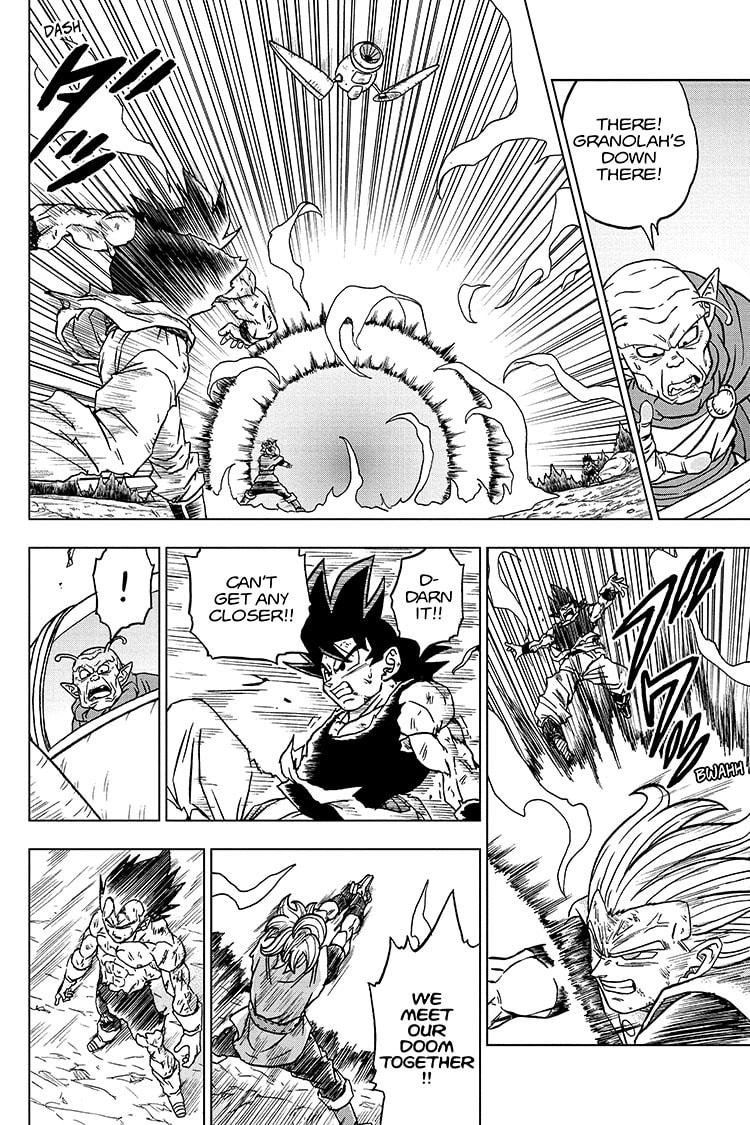Dragon Ball Super Chapter 76 Page 40
