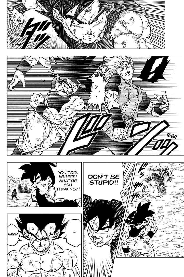 Dragon Ball Super Chapter 76 Page 42