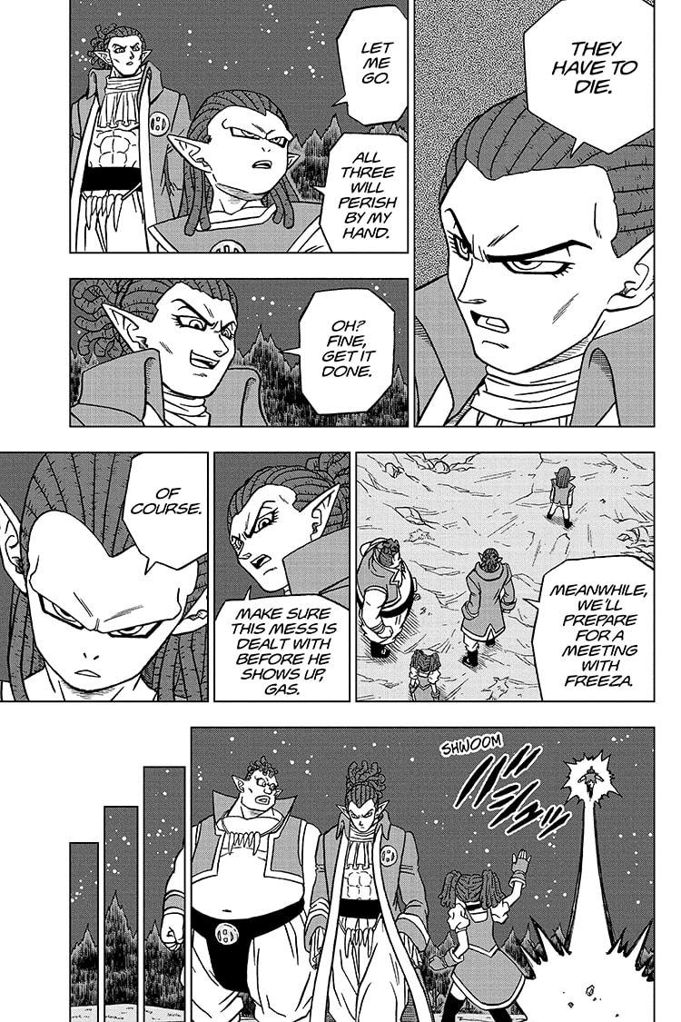 Dragon Ball Super Chapter 77 Page 43