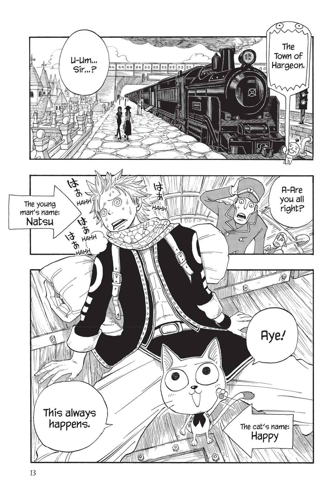 Fairy Tail Chapter 1 Page 13