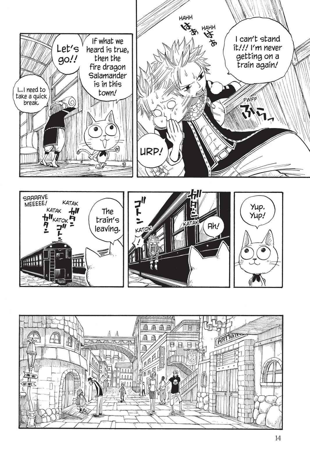 Fairy Tail Chapter 1 Page 14