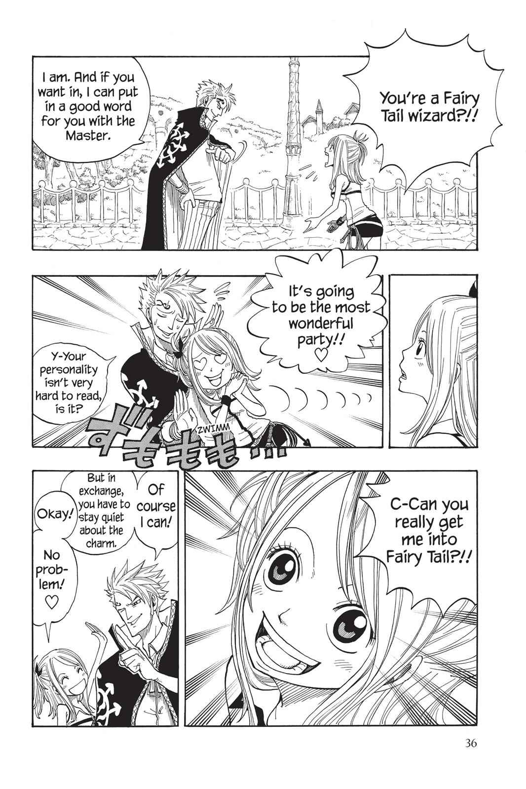 Fairy Tail Chapter 1 Page 36