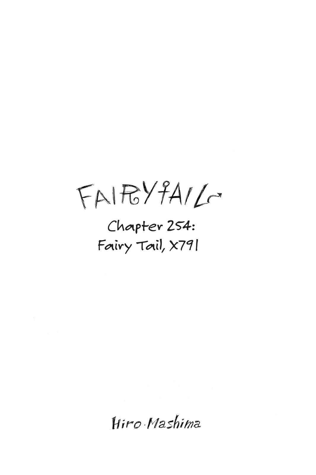 Fairy Tail Chapter 254 Page 1