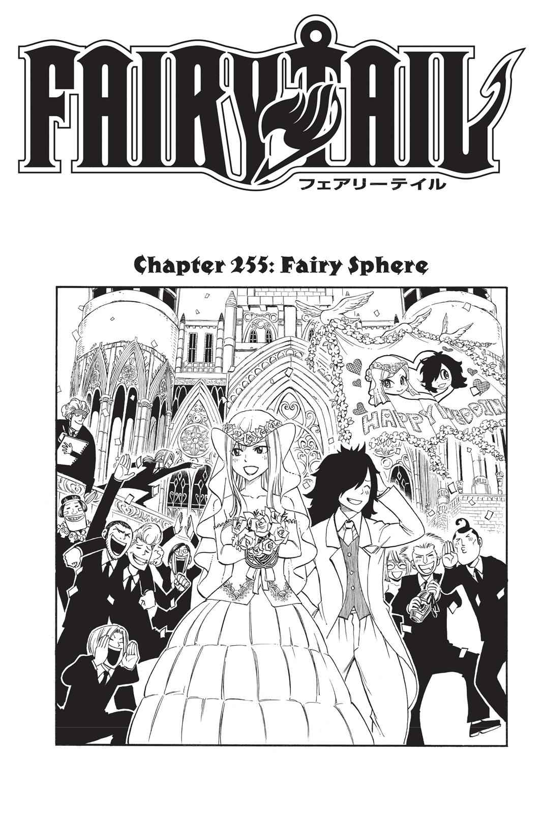 Fairy Tail Chapter 255 Page 1