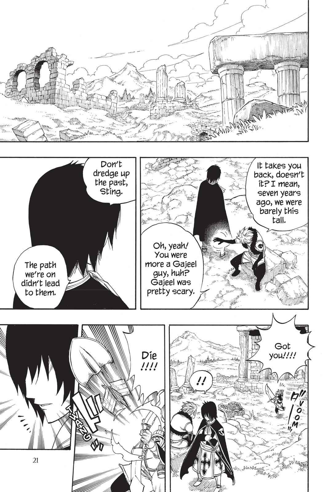 Fairy Tail Chapter 258 Page 22