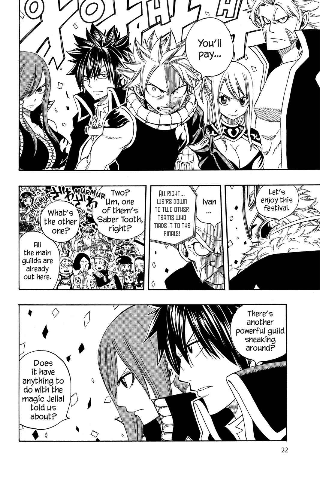 Fairy Tail Chapter 267 Page 23