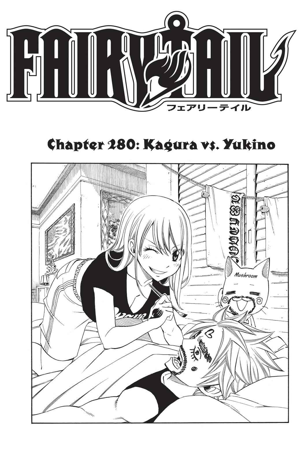 Fairy Tail Chapter 280 Page 1