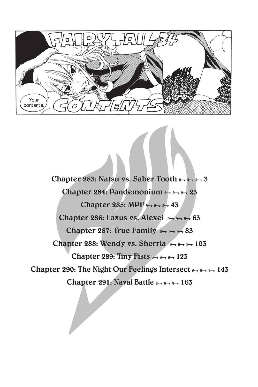 Fairy Tail Chapter 283 Page 4