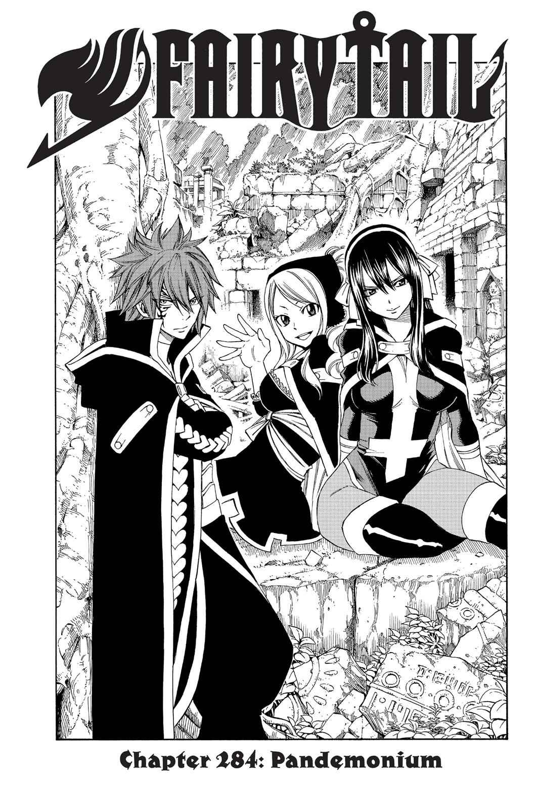 Fairy Tail Chapter 284 Page 1