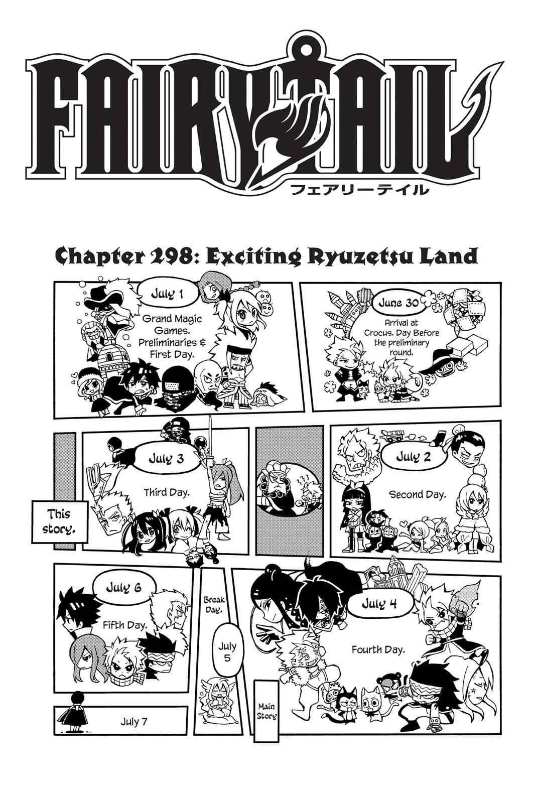 Fairy Tail Chapter 298 Page 1