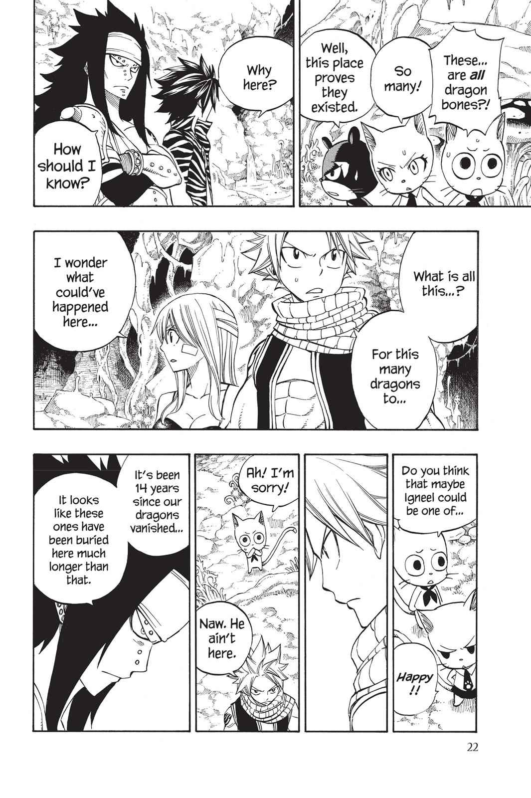 Fairy Tail Chapter 300 Page 22