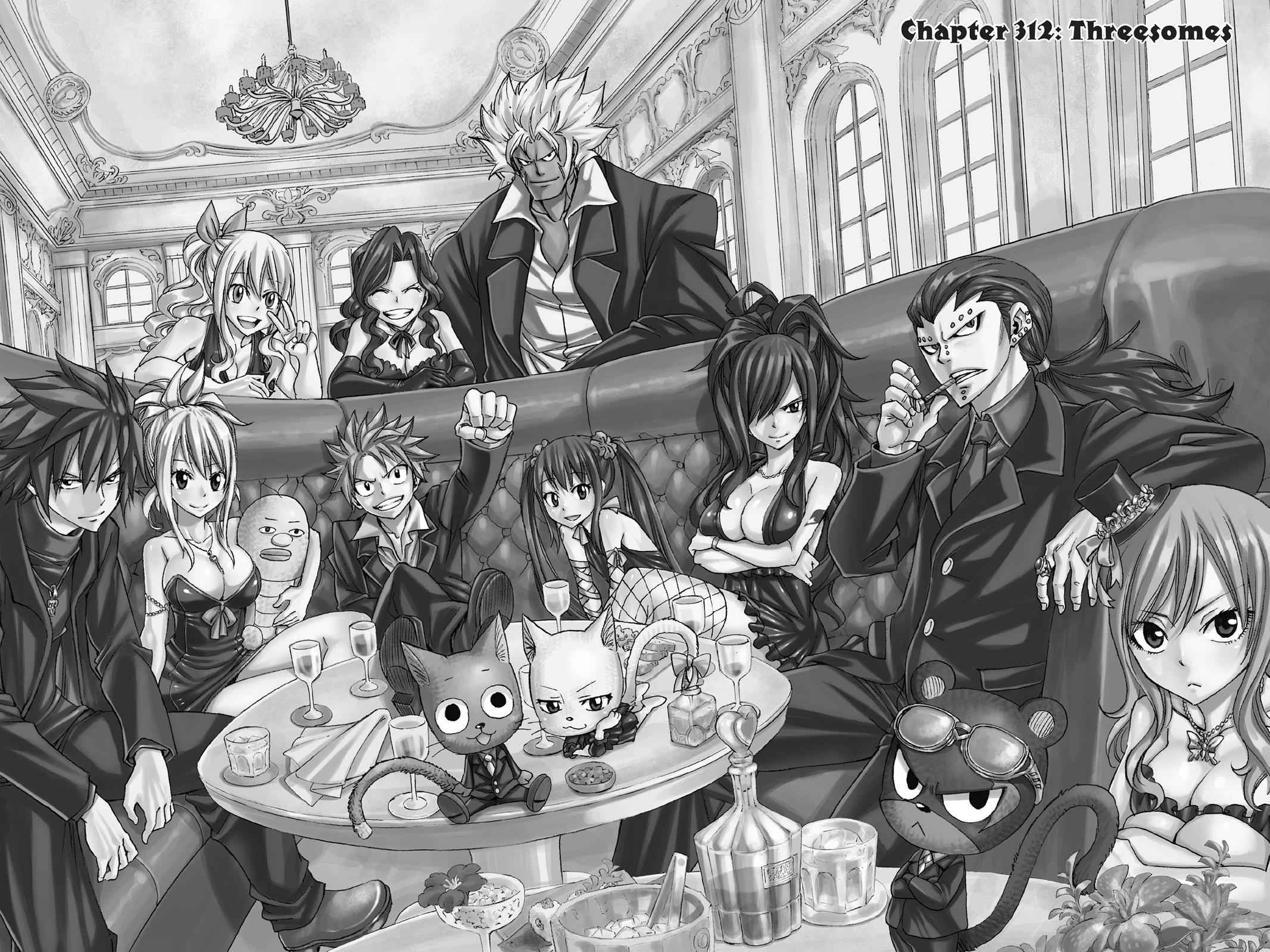 Fairy Tail Chapter 312 Page 2