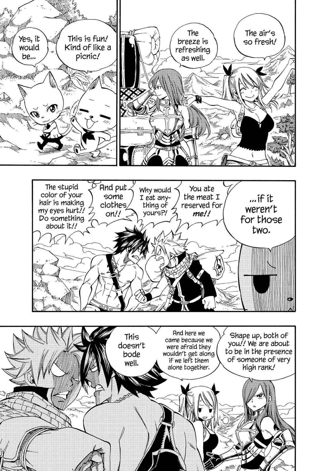 Fairy Tail Chapter 342 Page 3