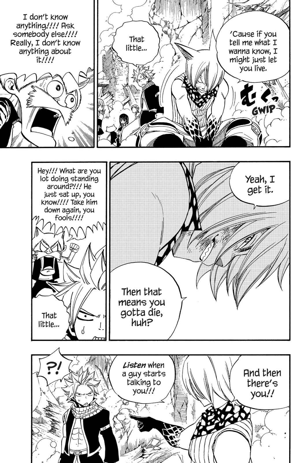 Fairy Tail Chapter 360 Page 17