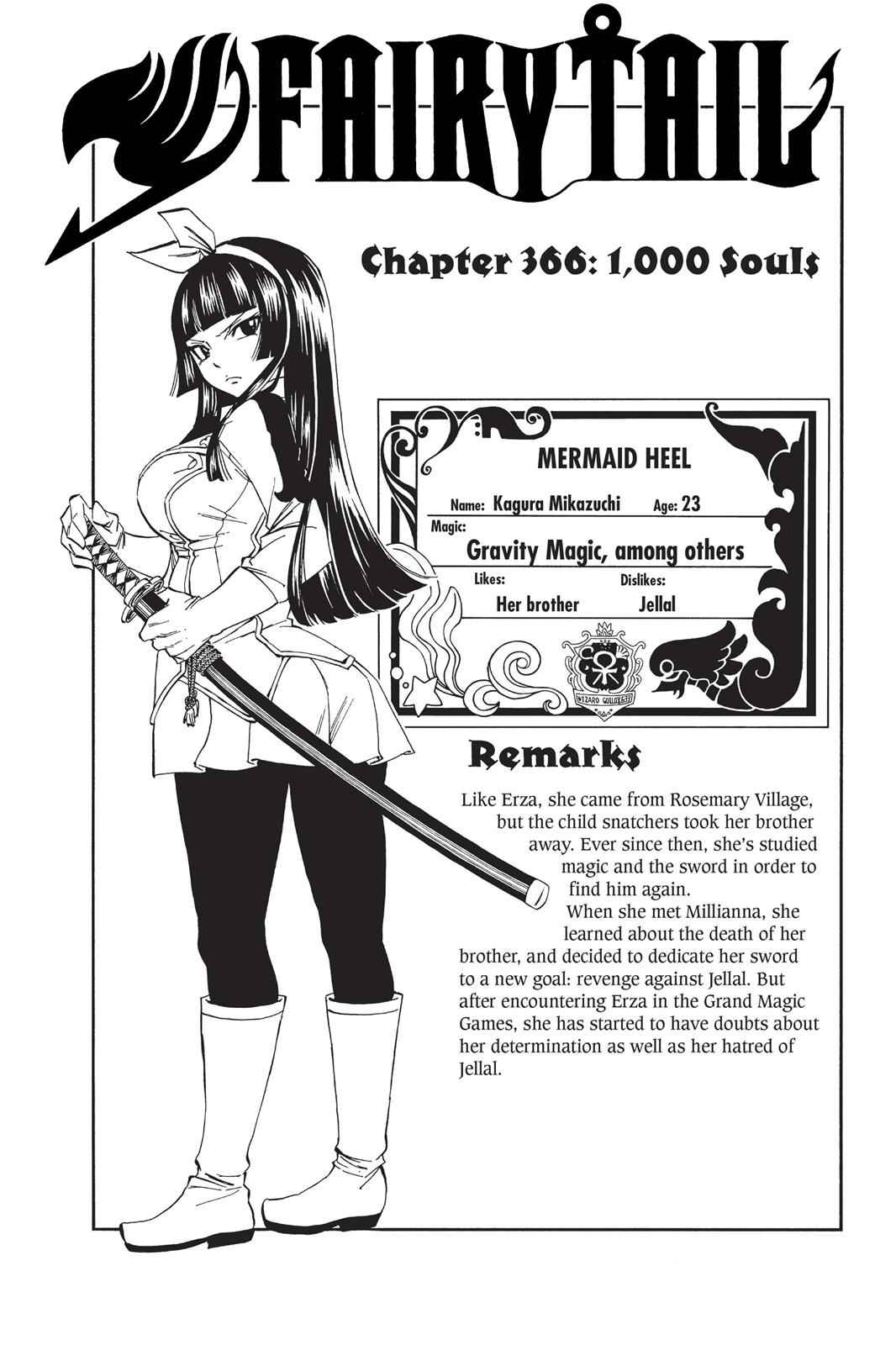 Fairy Tail Chapter 366 Page 1