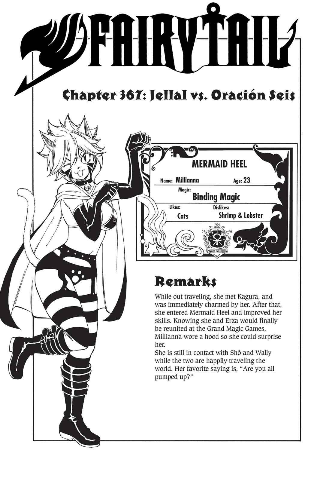 Fairy Tail Chapter 367 Page 1