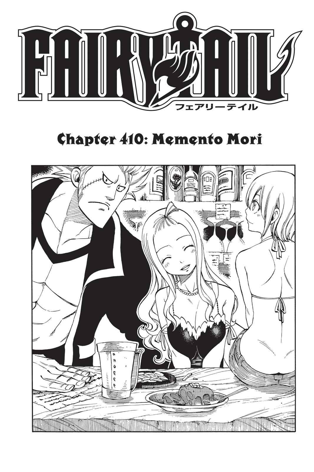 Fairy Tail Chapter 410 Page 1