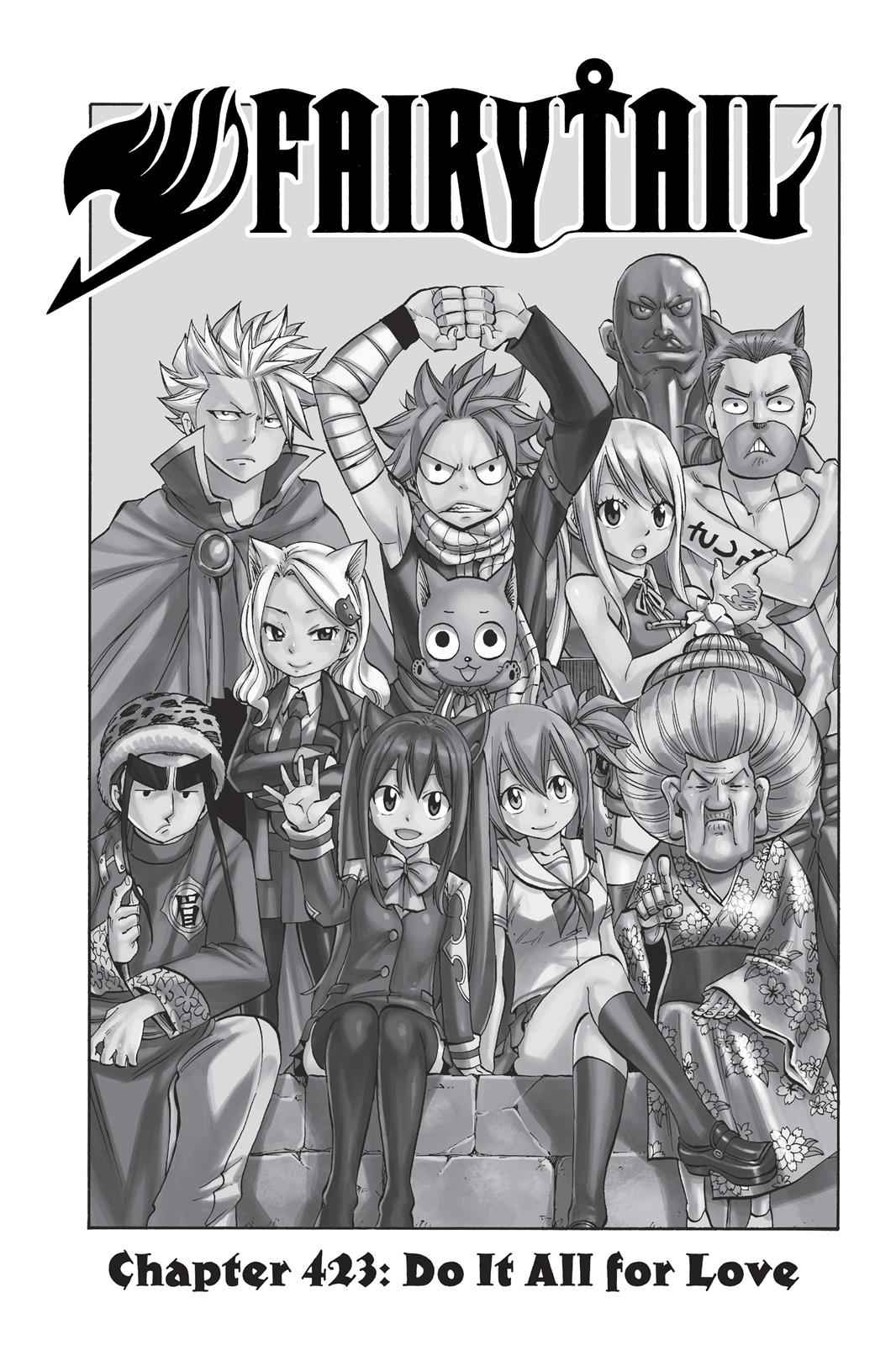 Fairy Tail Chapter 423 Page 1