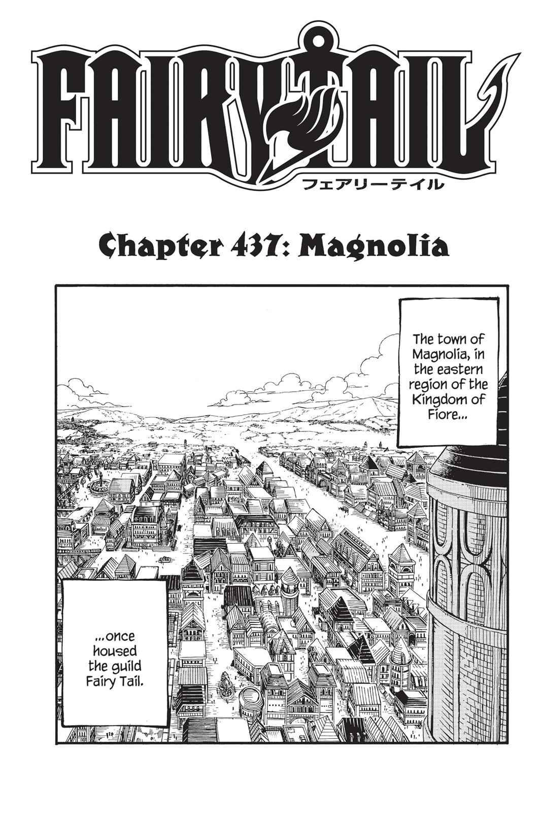 Fairy Tail Chapter 437 Page 1