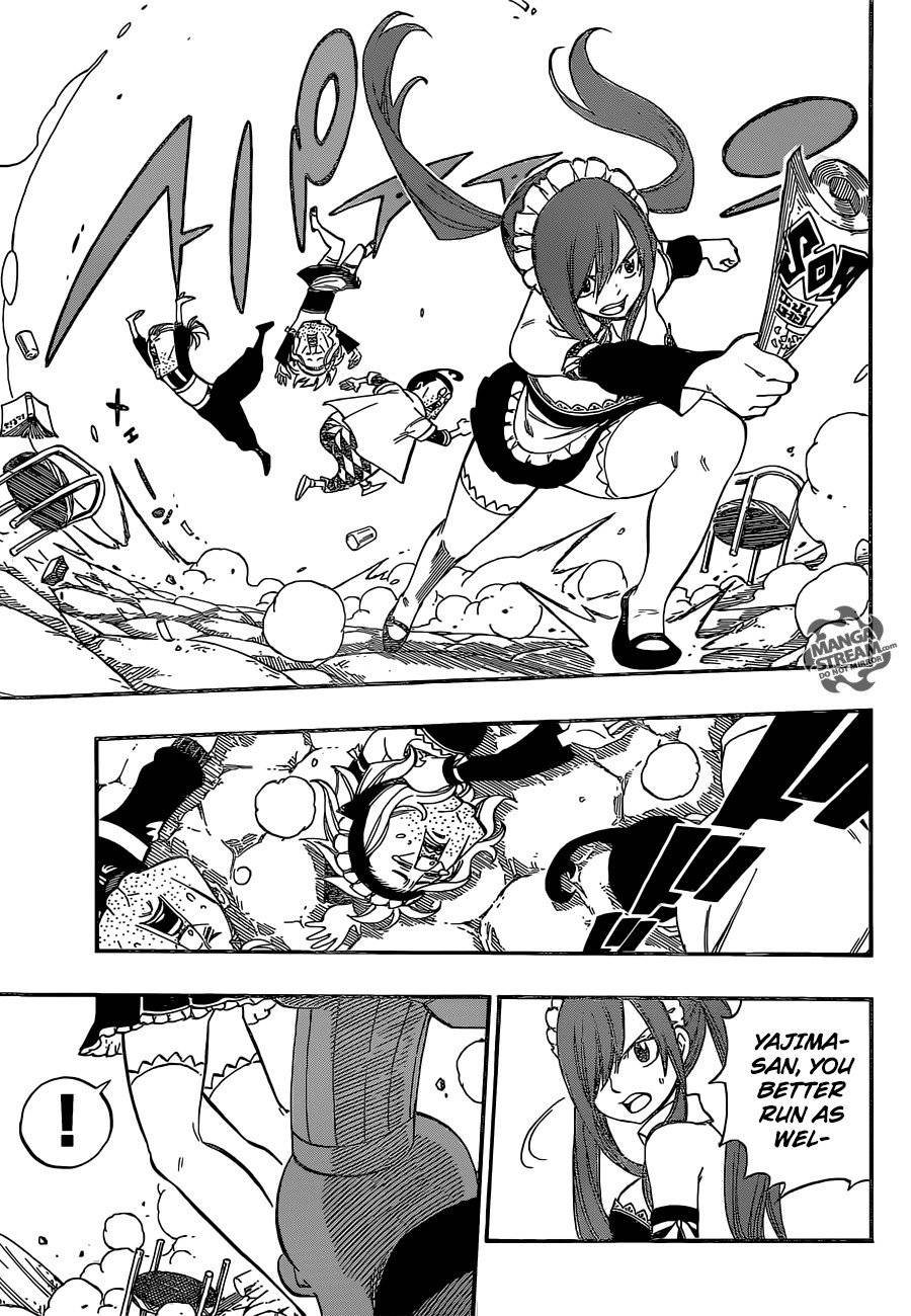 Fairy Tail Chapter 437.5 Page 12