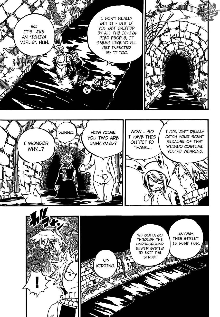 Fairy Tail Chapter 437.5 Page 22
