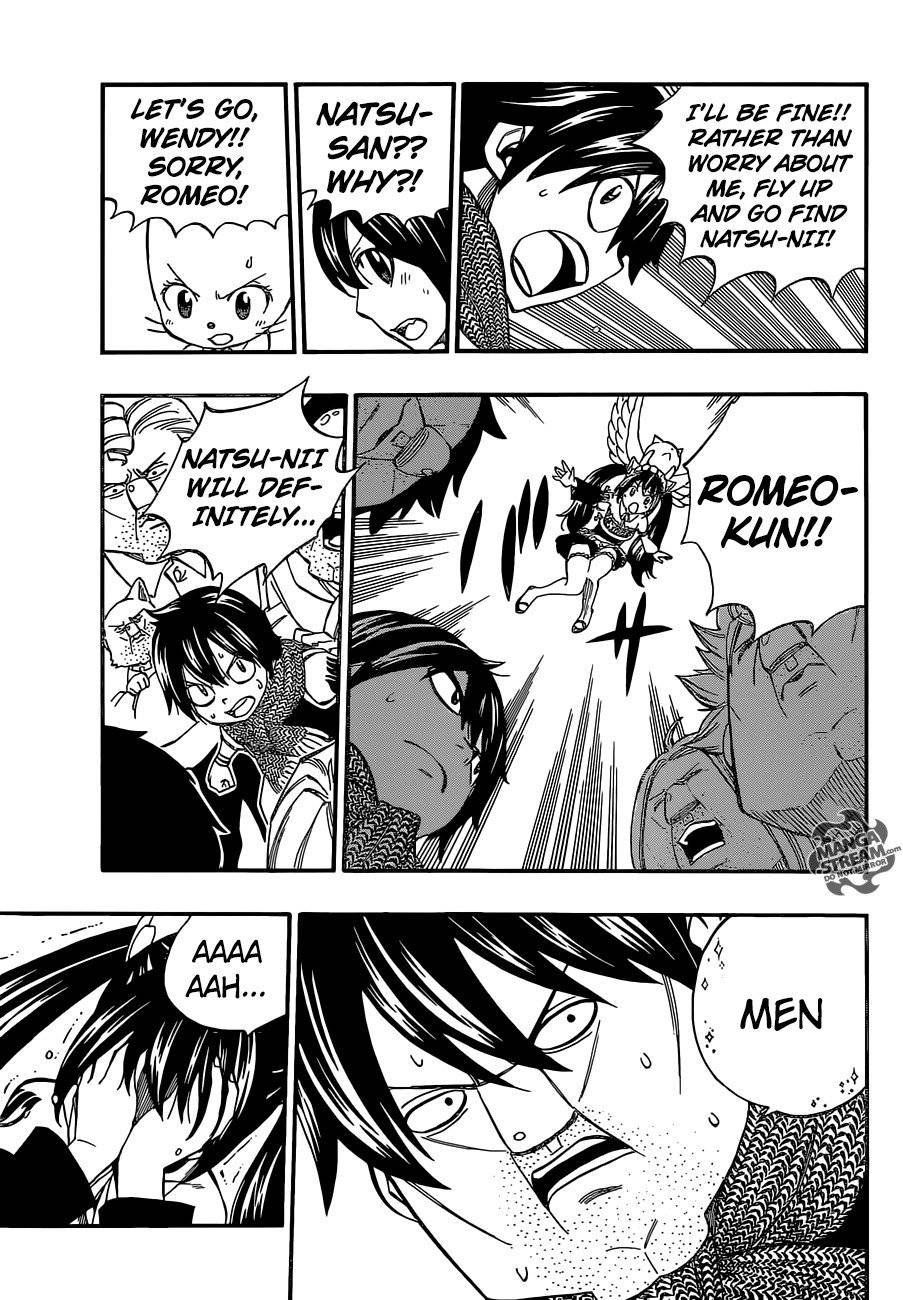 Fairy Tail Chapter 437.5 Page 28