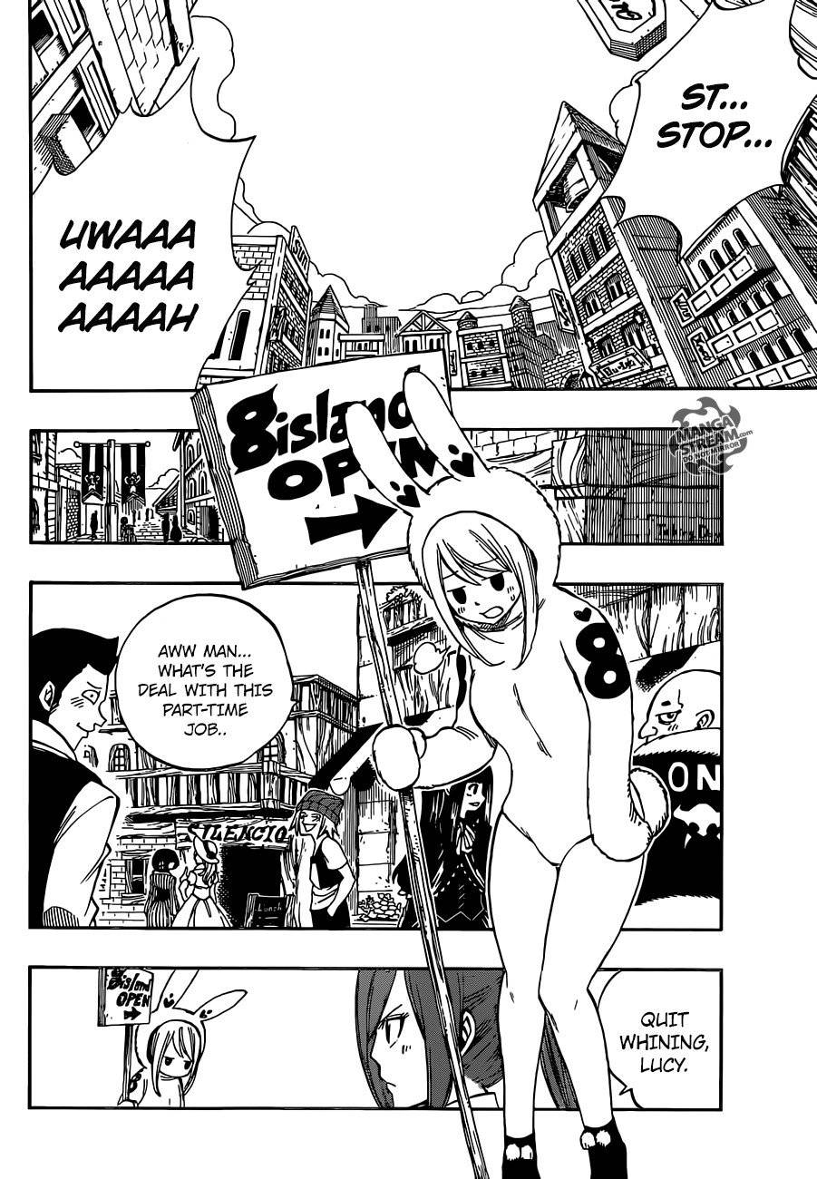 Fairy Tail Chapter 437.5 Page 5
