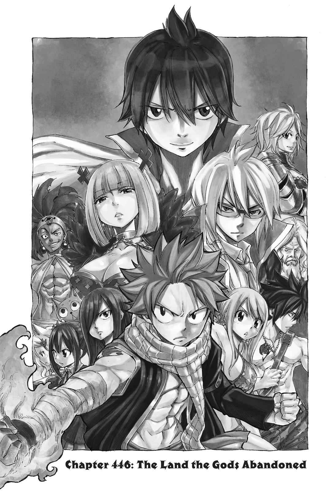 Fairy Tail Chapter 446 Page 1