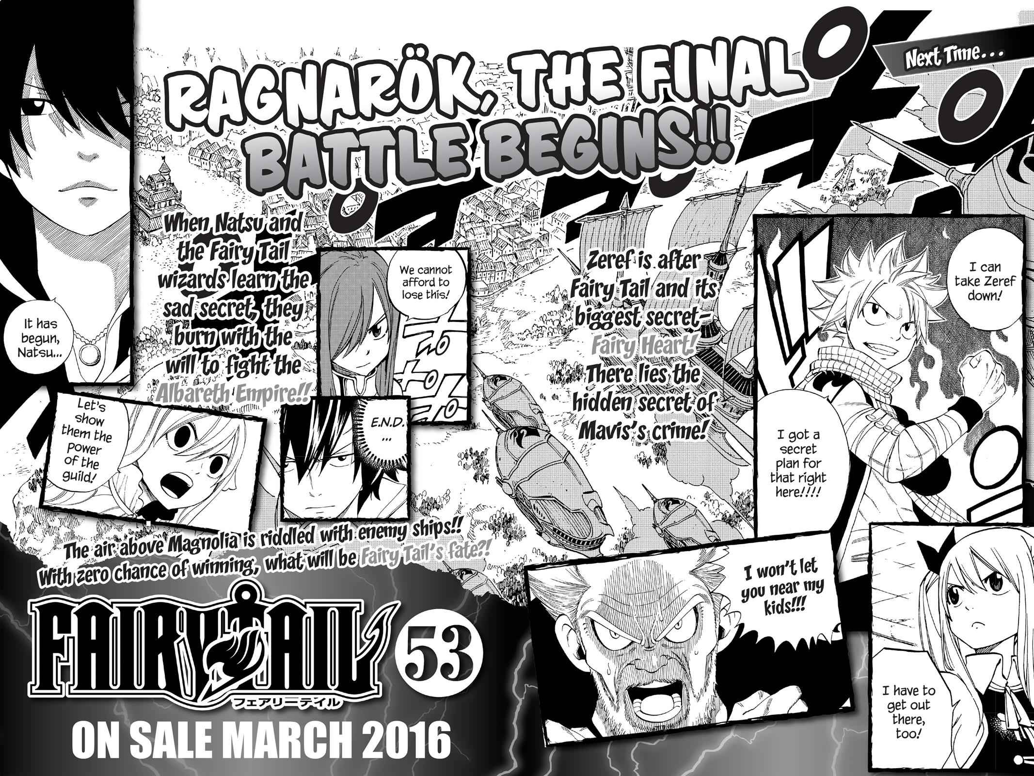 Fairy Tail Chapter 446 Page 37