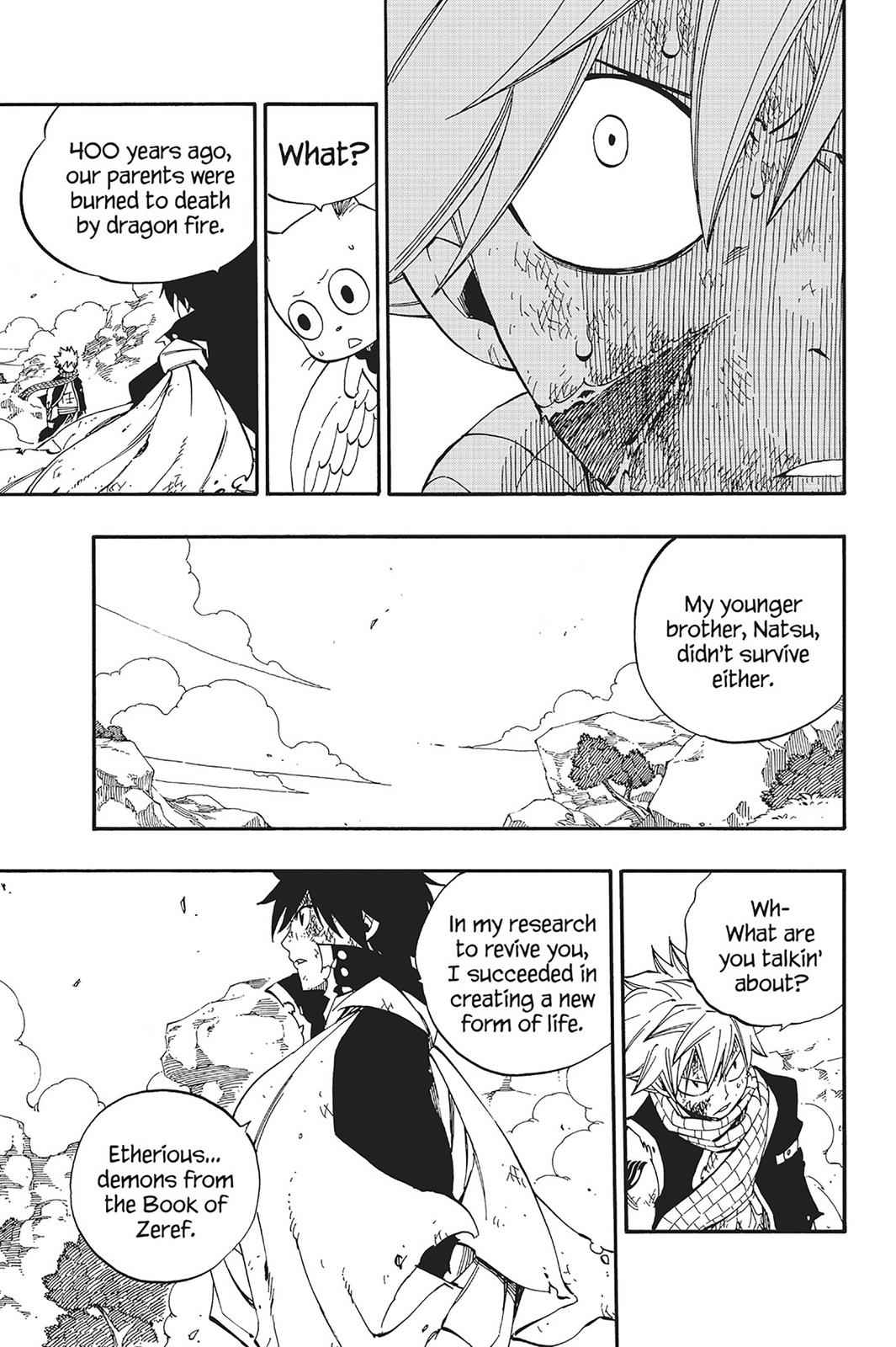 Fairy Tail Chapter 465 Page 11