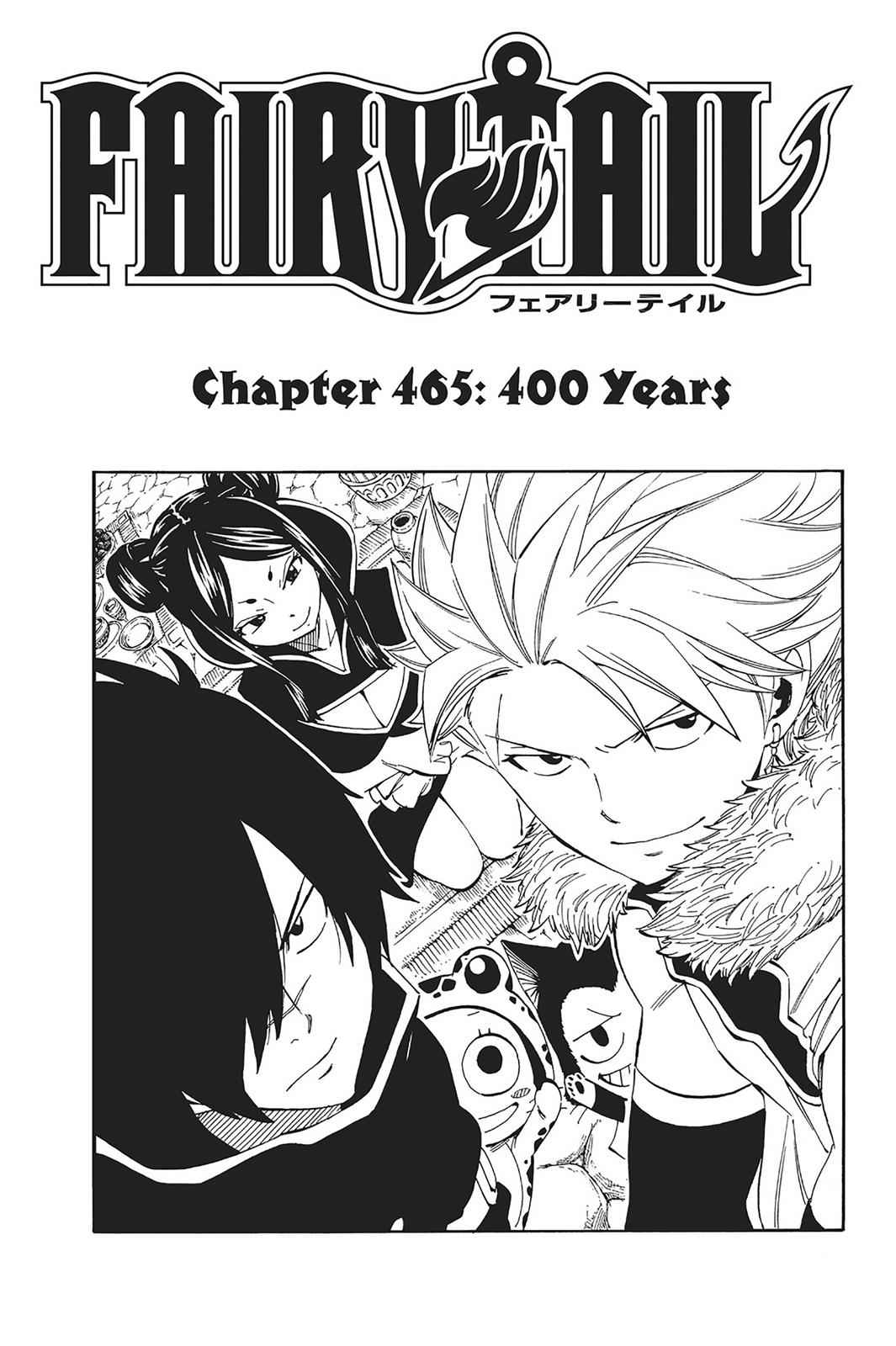 Fairy Tail Chapter 465 Page 5