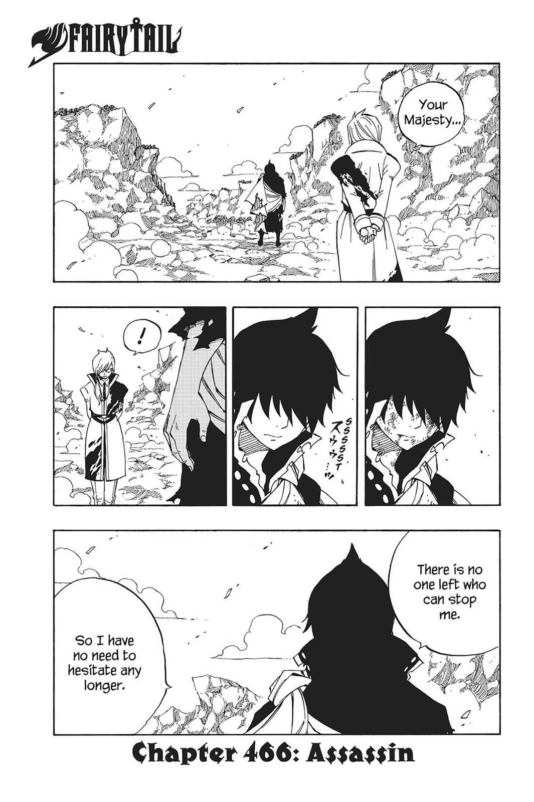 Fairy Tail Chapter 466 Page 1