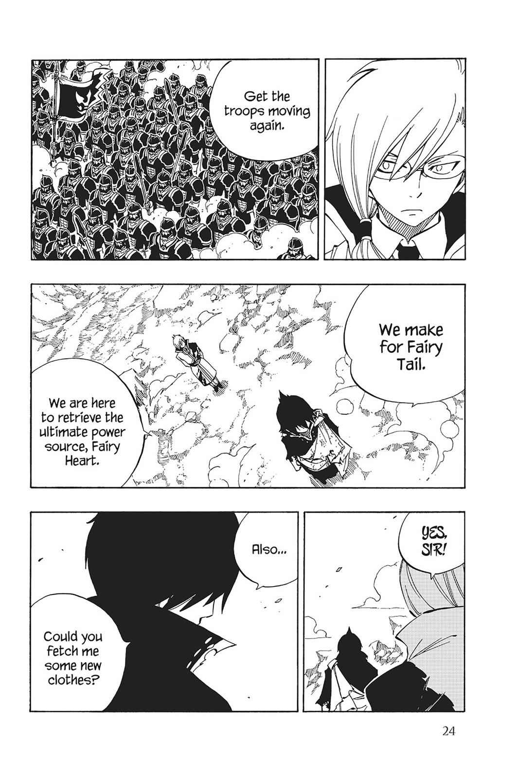 Fairy Tail Chapter 466 Page 2