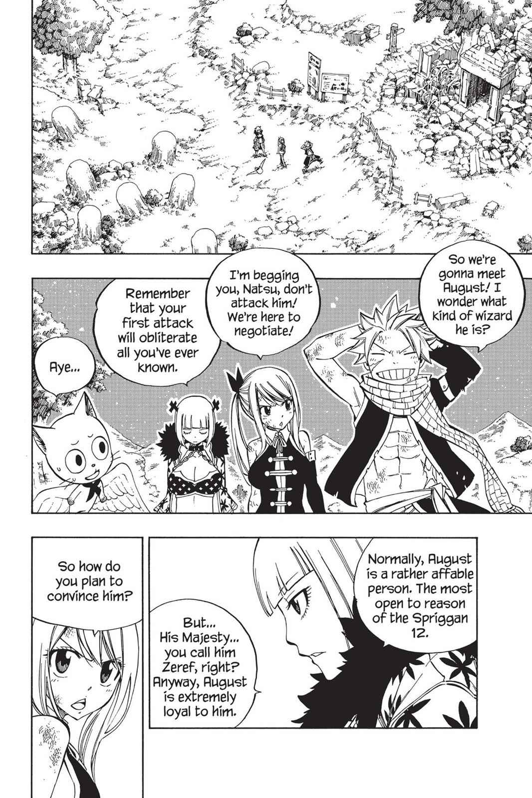 Fairy Tail Chapter 485 Page 2