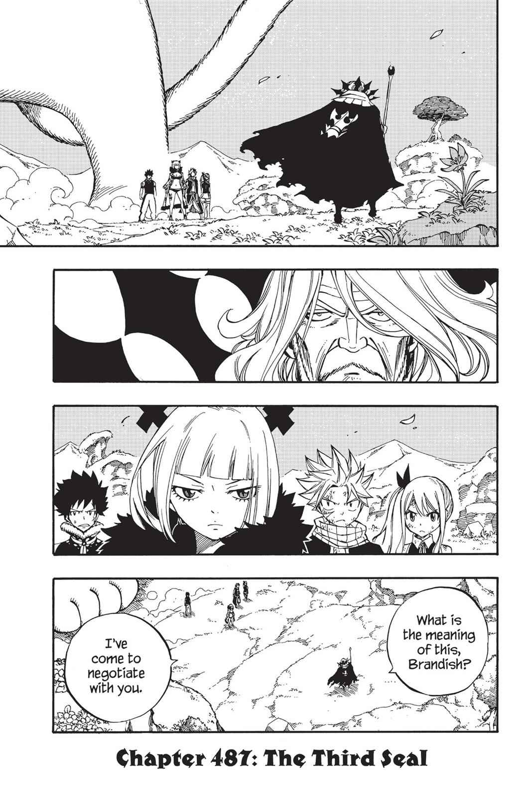 Fairy Tail Chapter 487 Page 1