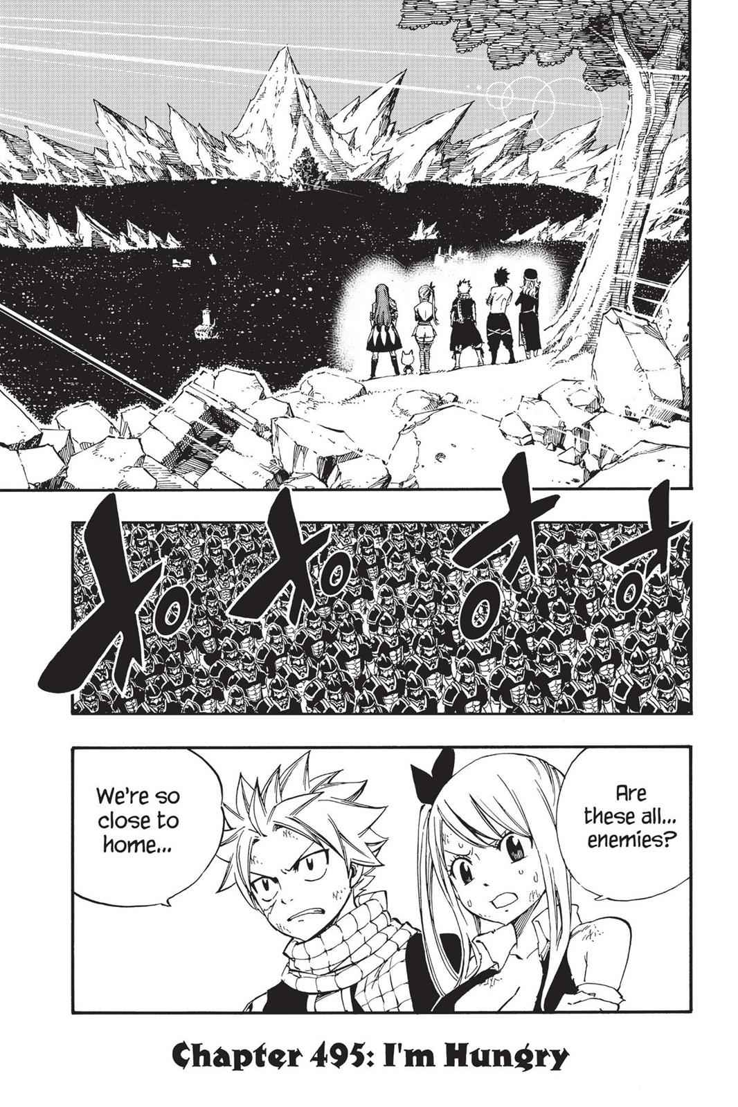 Fairy Tail Chapter 495 Page 2