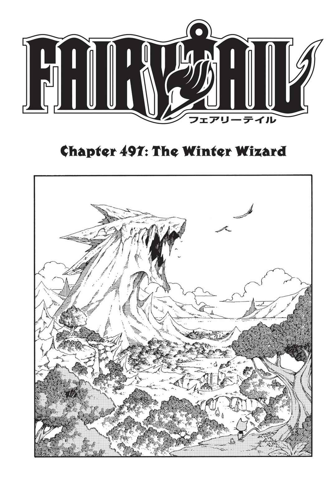 Fairy Tail Chapter 497 Page 1