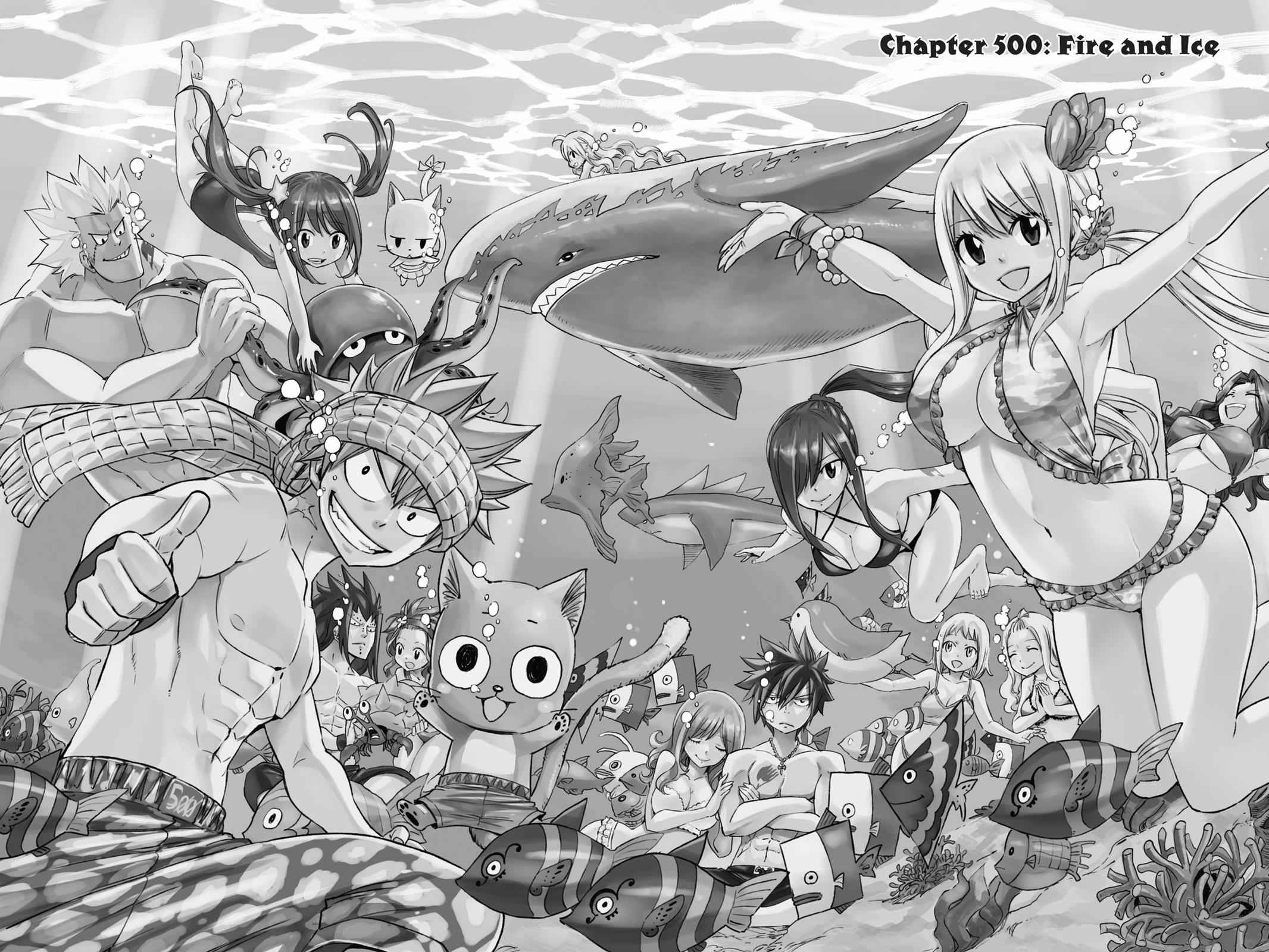 Fairy Tail Chapter 500 Page 1